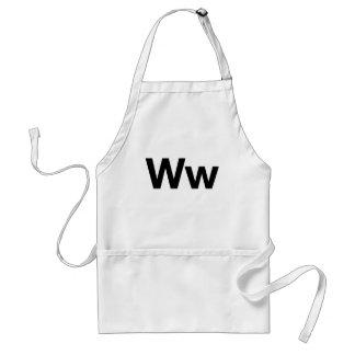 Helvetica Ww Adult Apron