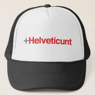 Helveticunt (Red Type) Trucker Hat