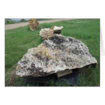 Hematite and Quartz Rock Card