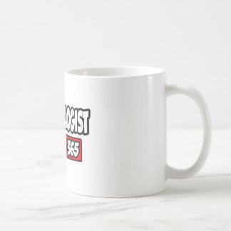 Hematologist 24-7-365 classic white coffee mug