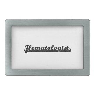 Hematologist Classic Job Design Belt Buckles