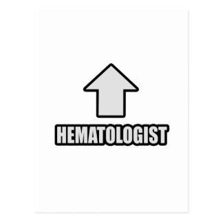 Hematólogo de la flecha postales