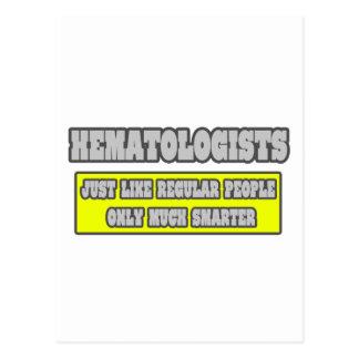 Hematólogos… mucho más elegantes postal