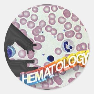 HEMATOLOGY - Medical Technology - Laboratory Classic Round Sticker