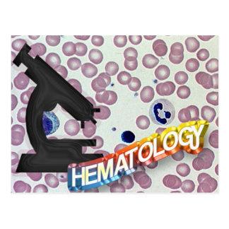 HEMATOLOGY - Medical Technology - Laboratory Postcard