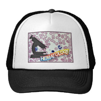 HEMATOLOGY - Medical Technology - Laboratory Trucker Hat
