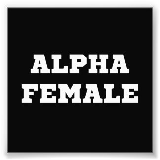 Hembra alfa fotografía
