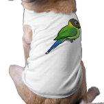 hembra Ciruelo-dirigida del Parakeet Ropa Macota