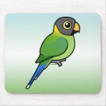 hembra Ciruelo-dirigida del Parakeet Tapetes De Ratones