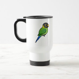 hembra Ciruelo-dirigida del Parakeet Taza
