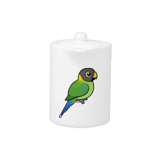 hembra Ciruelo-dirigida del Parakeet
