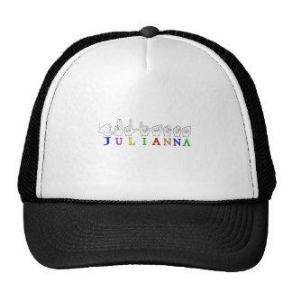 HEMBRA CONOCIDA DE LA MUESTRA DE JULIANNA ASL FING GORRO