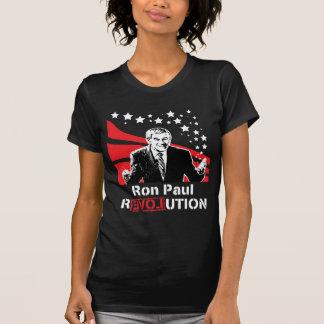 Hembra de la camiseta del negro de la revolución