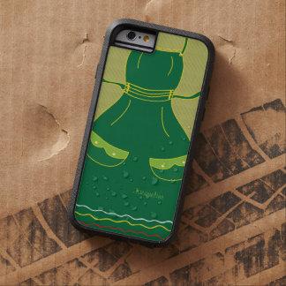 Hembra divertida del delantal del ama de casa funda tough xtreme iPhone 6