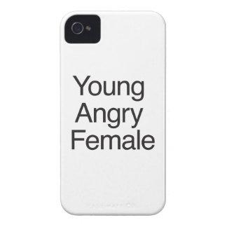 Hembra enojada joven carcasa para iPhone 4 de Case-Mate