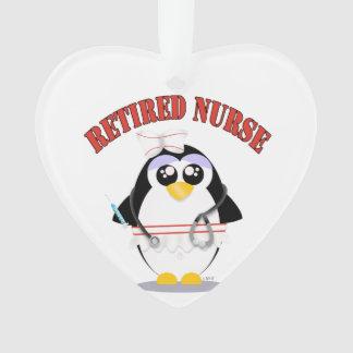 Hembra jubilada del pingüino de la enfermera