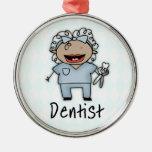 Hembra profesional del dentista del empleo ornamento para reyes magos