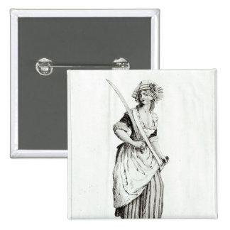 Hembra Sin-Culotte, 1792 Pins