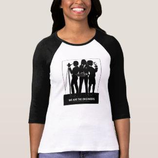 (Hembra) somos la camiseta del béisbol de los Playera