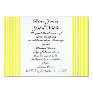 Hemera (Yellow) Wedding Invitation