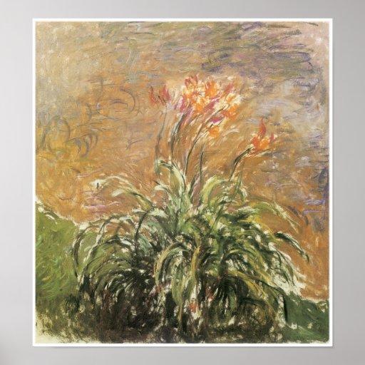 Hemeroccalis, Claude Monet Poster