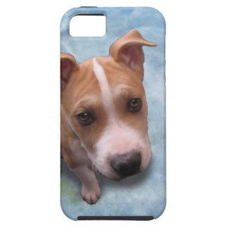 Hemi el perrito del pitbull iPhone 5 Case-Mate funda