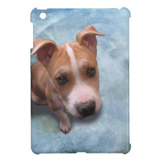 Hemi el perrito del pitbull iPad mini cobertura