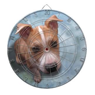 Hemi the Pit Bull Puppy Dart Boards
