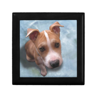 Hemi the Pit Bull Puppy Jewelry Boxes