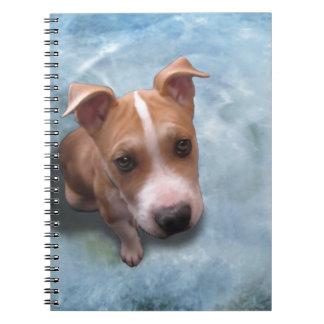 Hemi the Pit Bull Puppy Note Books
