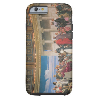 Hemicycle: Artists of All Ages, detail of the righ Tough iPhone 6 Case