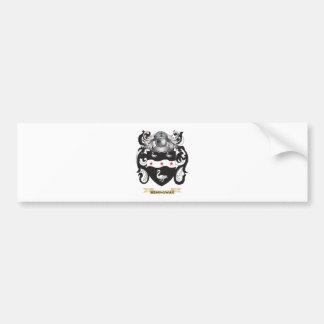 Hemingway Coat of Arms (Family Crest) Car Bumper Sticker