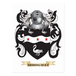 Hemingway Coat of Arms (Family Crest) Postcard