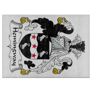 Hemingway Family Crest Cutting Board