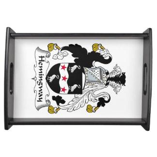 Hemingway Family Crest Serving Platter