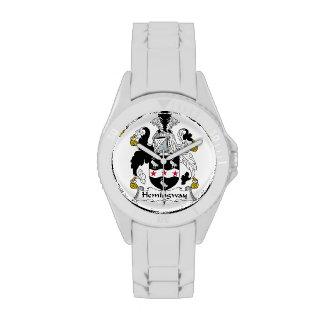 Hemingway Family Crest Watch