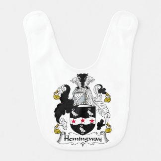 Hemingway Family Crest Bibs