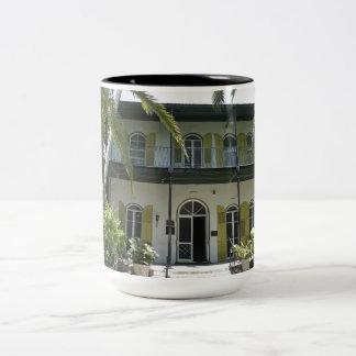 Hemingway's Hideaway Two-Tone Coffee Mug
