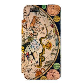 Hemisferio celestial, 1790 funda billetera para iPhone 5 watson