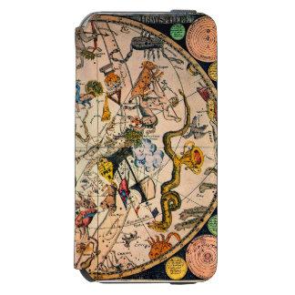 Hemisferio celestial, 1790 funda billetera para iPhone 6 watson