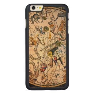 Hemisferio celestial, 1790 funda de arce carved® para iPhone 6 plus slim
