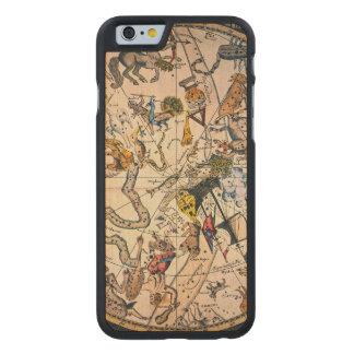 Hemisferio celestial, 1790 funda de iPhone 6 carved® de arce