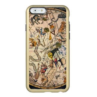 Hemisferio celestial, 1790 funda para iPhone 6 plus incipio feather shine