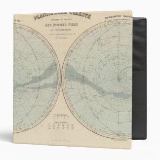 """Hemisferio de Celeste del planisferio Carpeta 1 1/2"""""""