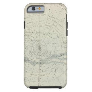 Hemisferio de Celeste del planisferio Funda De iPhone 6 Tough