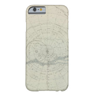 Hemisferio de Celeste del planisferio Funda De iPhone 6 Barely There