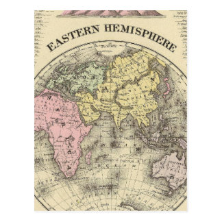 Hemisferio del este 13 postales
