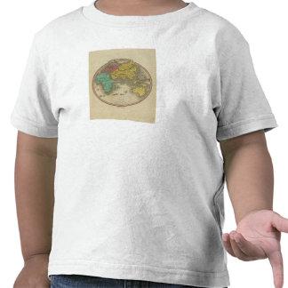 Hemisferio del este 15 camiseta
