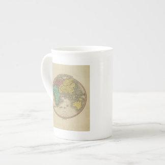 Hemisferio del este 15 taza de porcelana
