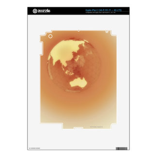 Hemisferio del este 3 pegatina skin para iPad 3